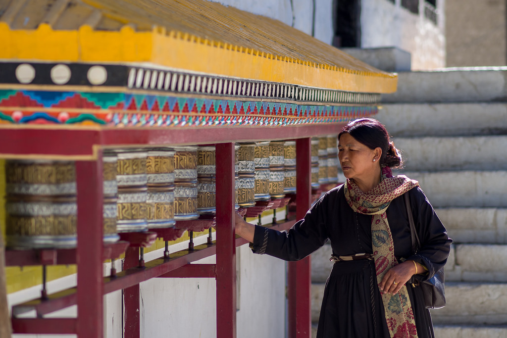 Prayer Wheels Ladakh