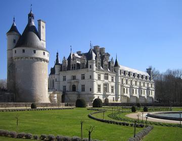 Loire chateaux Chenonceau