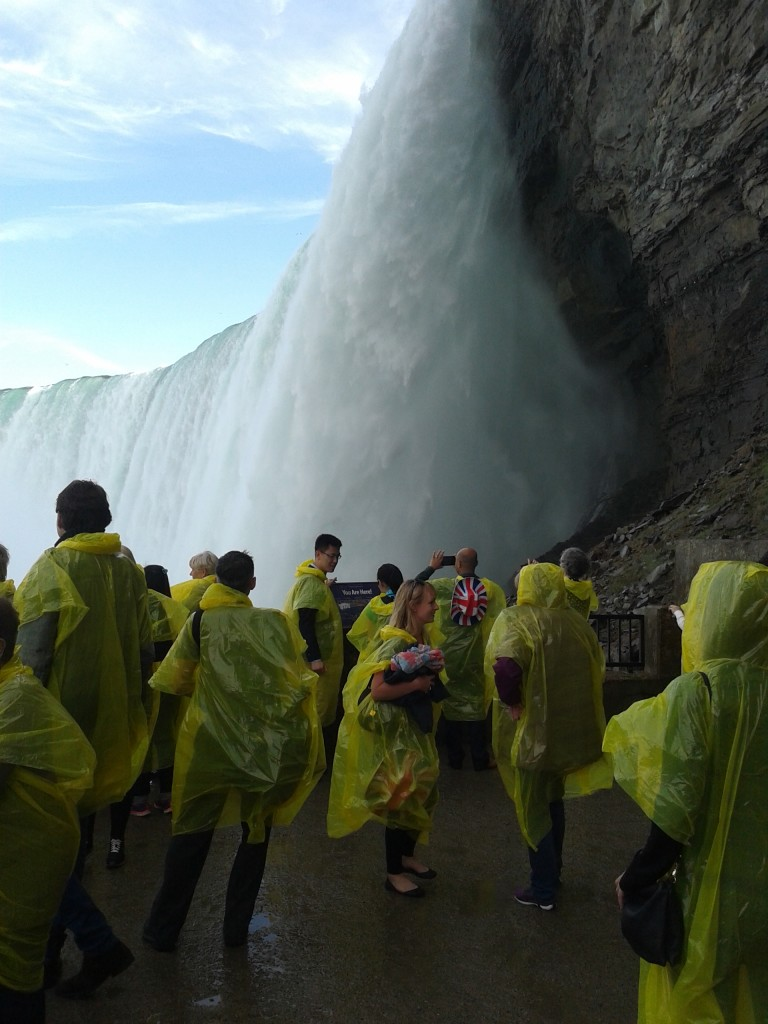 Getting up close and personal with the Horseshoe Falls