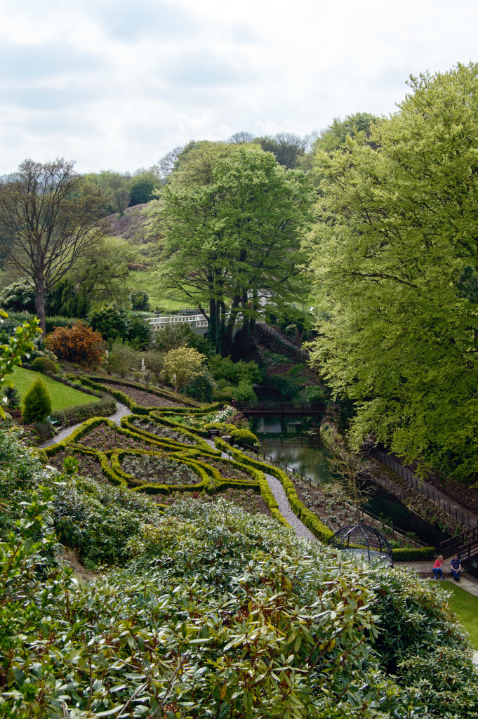 The garden at Raithwaite Hall by Angie Aspinall