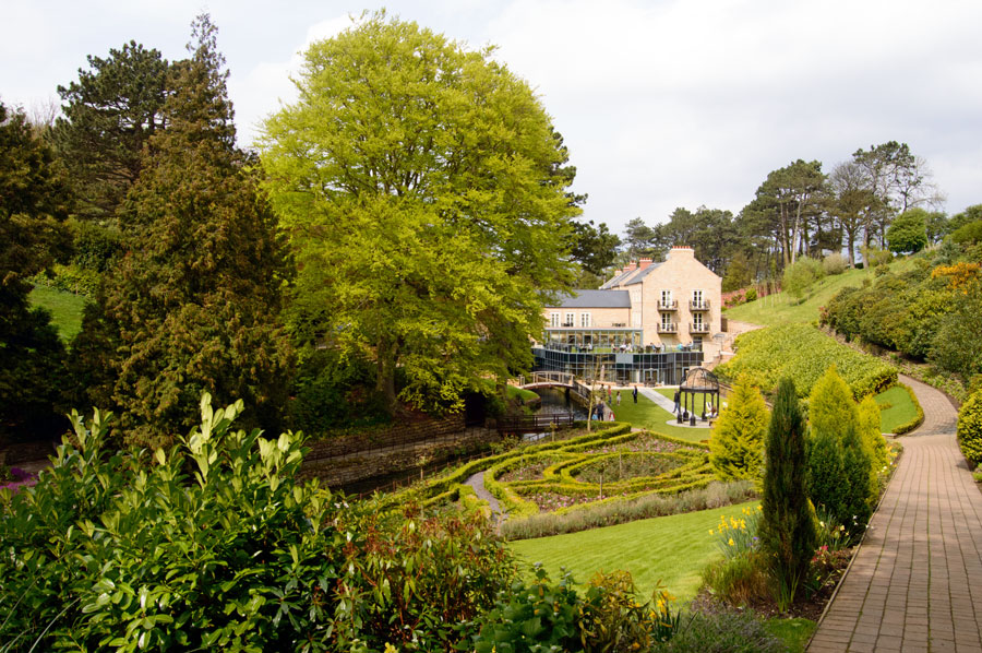 Raithwaite Hall and gardens by Angie Aspinall
