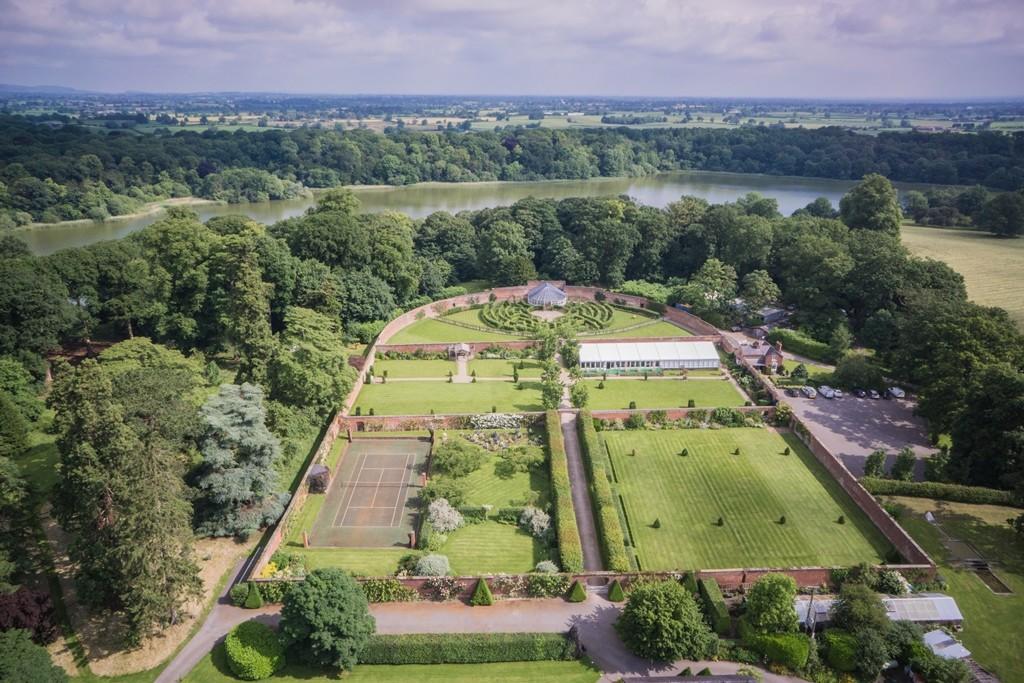 Walled Garden aerial