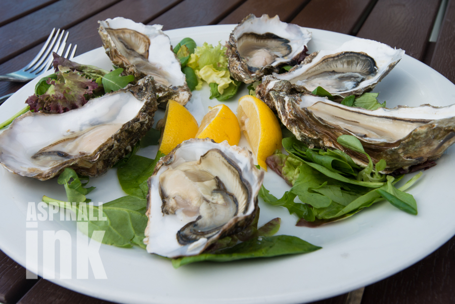 Oysters at Ee-Usk