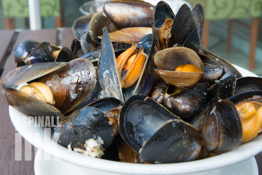 Mussels at Ee-Usk