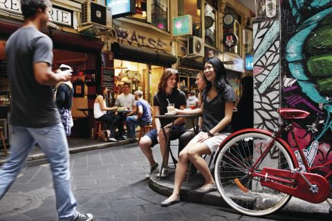 Vicolino Cafe, Centre Place, Melbourne, Victoria (Photo: Business Wire)