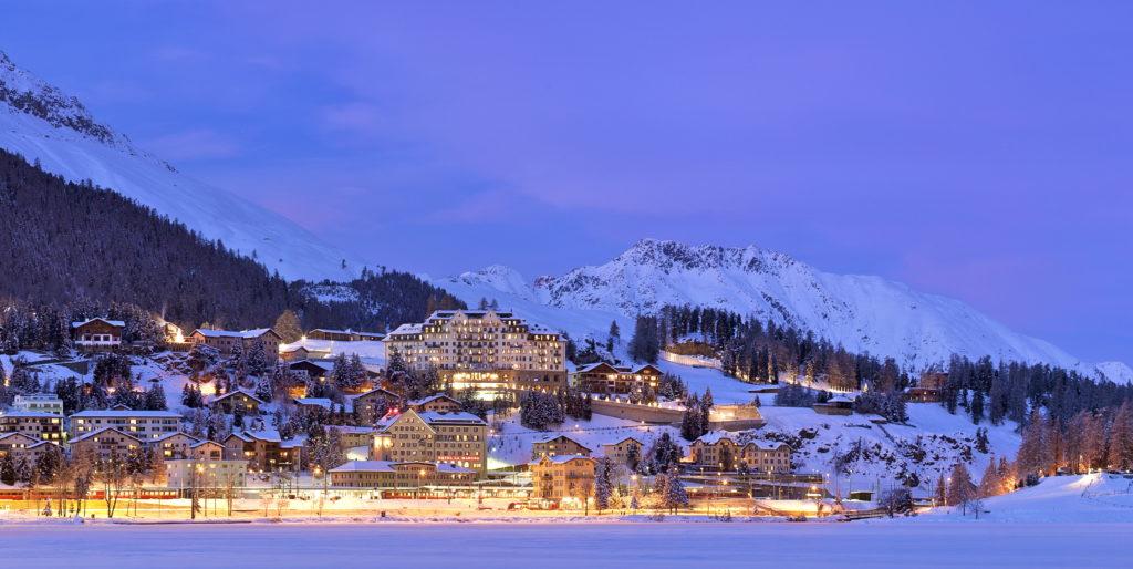 Schweiz,Graubünden,Engadin,St.Moritz,Carlton Hotel
