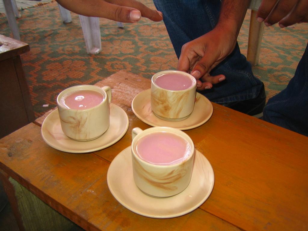 Butter Tea in Ladakh