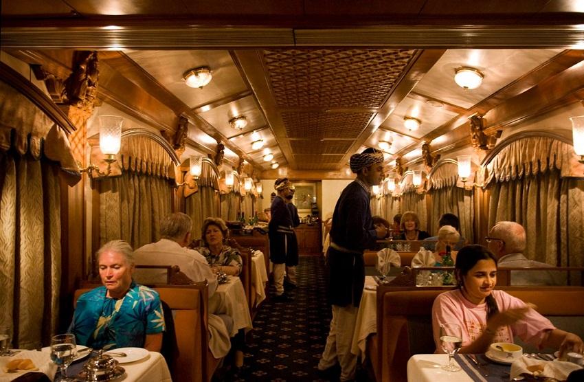 Deccan Odyssey Restaurant Peshwa