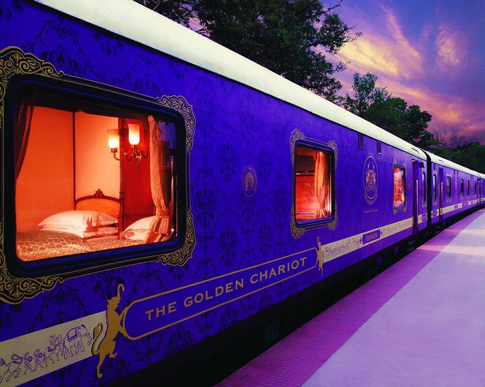 Golden Chariot Train