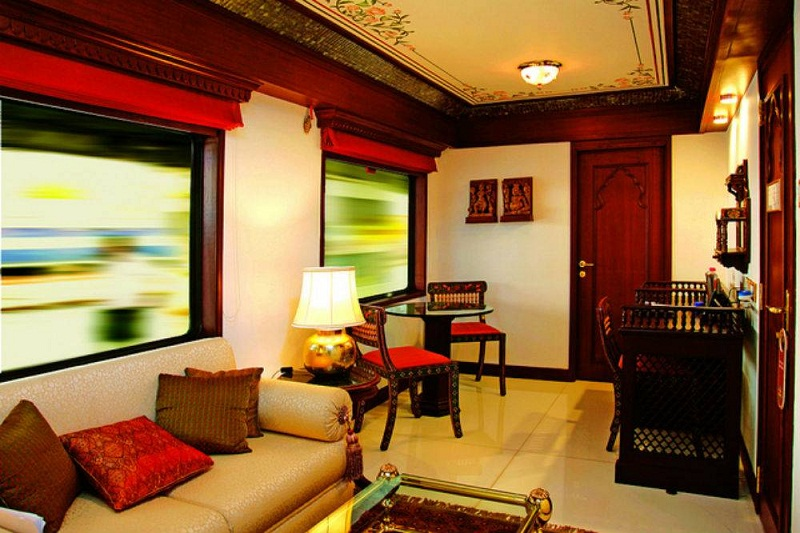 Presidential Suite of Maharaja Express