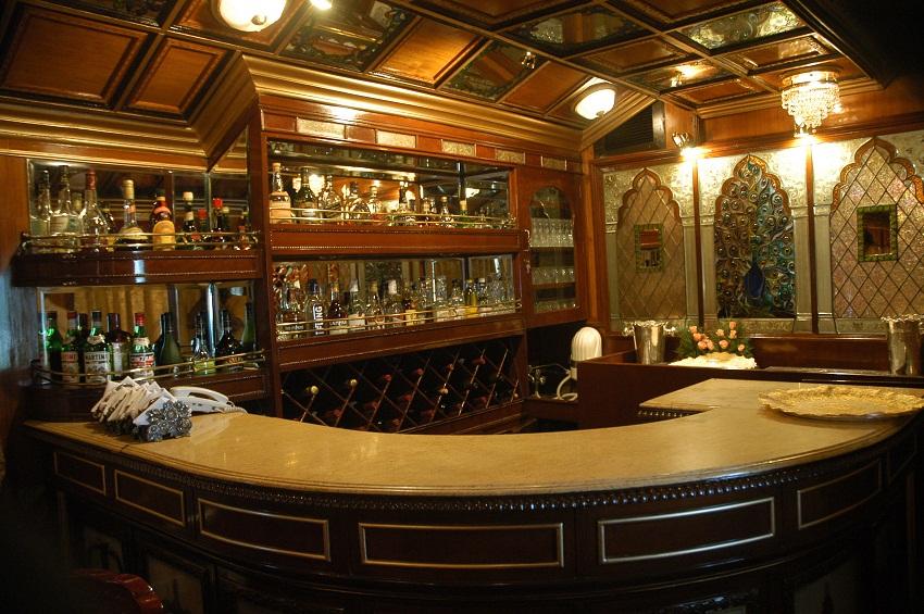 Royal Rajasthan on Wheels Bar