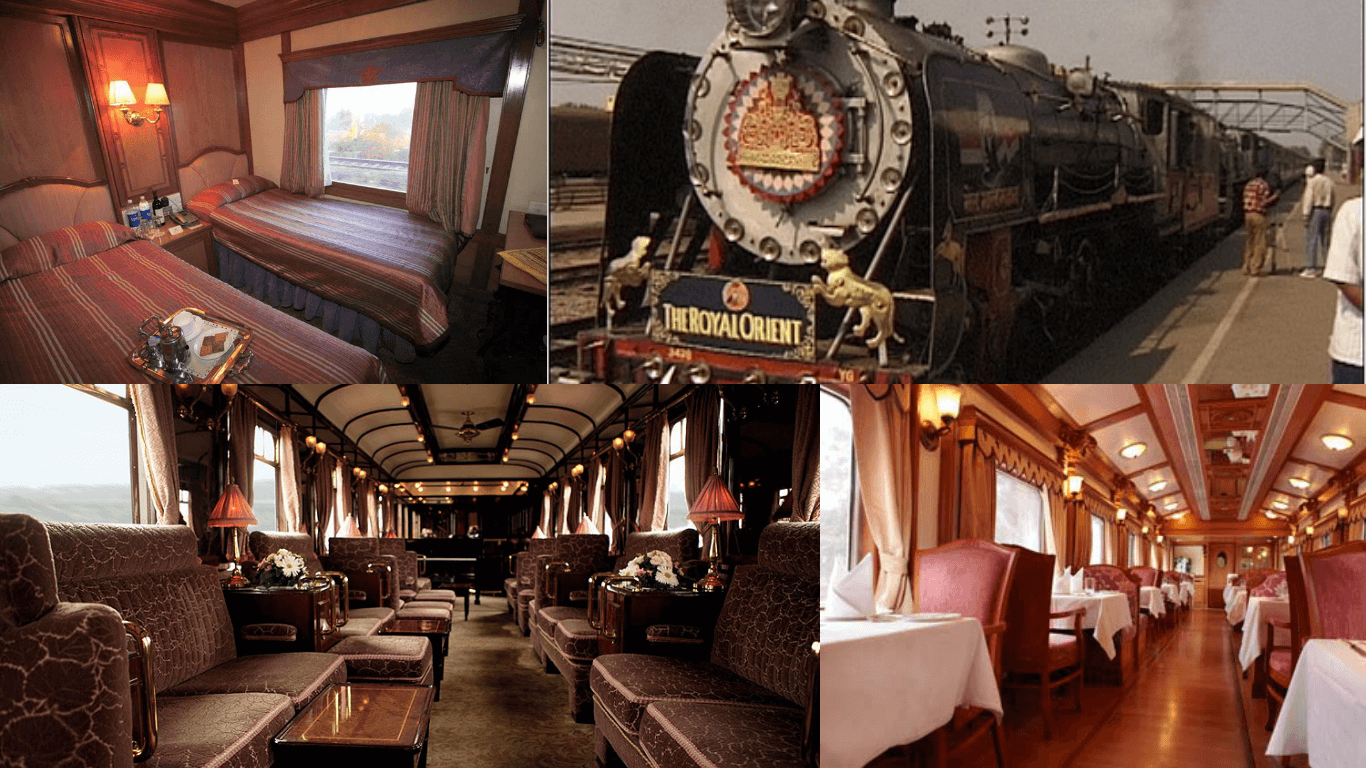 The Royal Orient Luxury Train